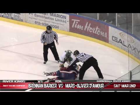 Marc-Olivier D'Amour vs Brennan Barker