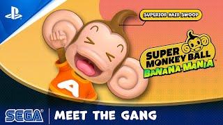 PlayStation Super Monkey Ball Banana Mania - Character Reveal | PS5, PS4 anuncio