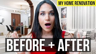 INTERIOR DESIGN | Living Room & Dining Room BEFORE + AFTER TRANSFORMATION | My Home Tour Part 1