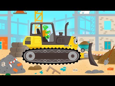 МАШИНКИ - Песня мультфильм загадка и игра для детей про животных видео