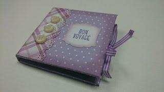 Mini Book Tutorial - Tutoriel Mini Book