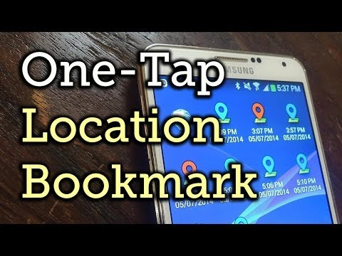 Video of Geo Bookmark (Dashclock)
