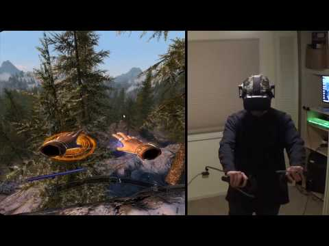 SkyrimVR with SKSE — Oculus