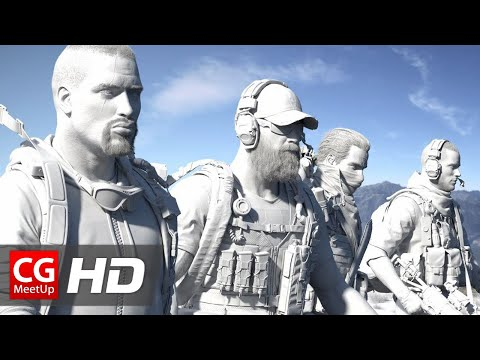 "CGI 3D Breakdown HD: ""Making of Tom Clancy's Ghost Recon"" by Mathematic Studio"