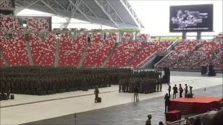 Wilfred 07 Sep 16 BMT Passing Out Parade At National Stadium