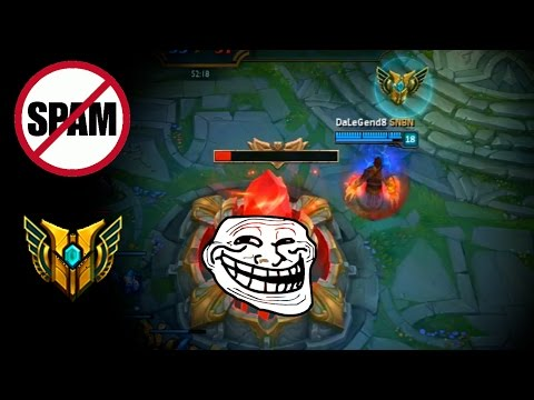 LoL Funny Moments #45 Don't spam mastery logo (League of Legends)