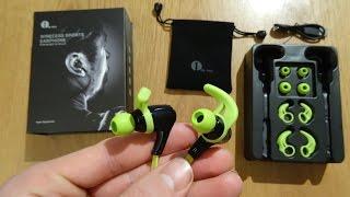 1byone Wireless In-Ear Sport Kopfhörer - UNBOXING & ERSTER EINDRUCK !