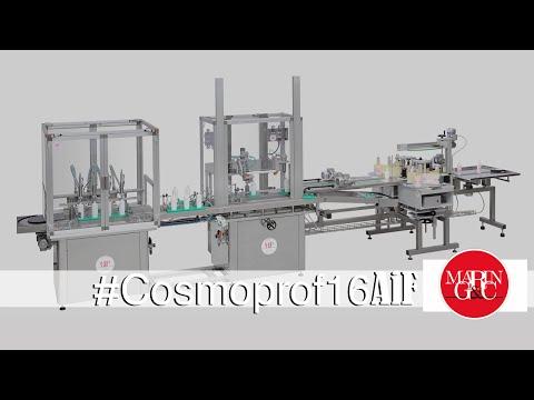 Cosmolin, riempitrice lineare automatica