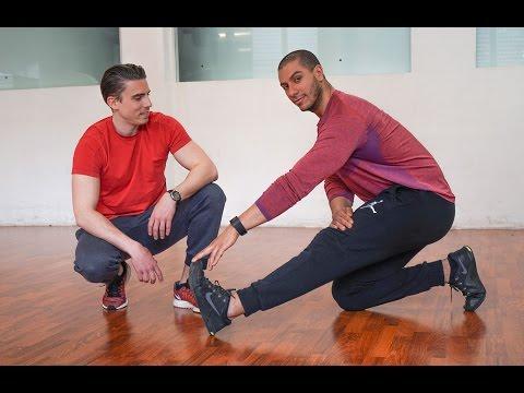 Le graphique des entraînements par jours et les groupes des muscles