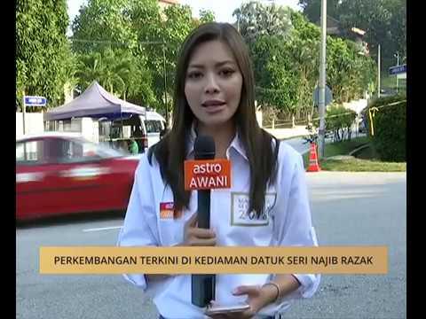 Perkembangan terkini di kediaman Datuk Seri Najib Razak