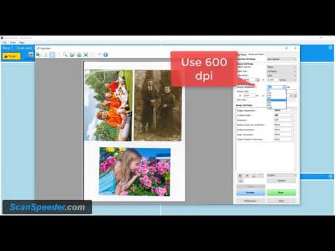 Scan Photos with a Canon Scanner - Advanced Mode