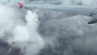 preview picture of video 'Wizzair after take off at Tille (LFOB - LRCL) Part 2'