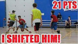 I SCORED 21 POINTS! 5 ON 5 BASKETBALL VS SUBSCRIBERS!