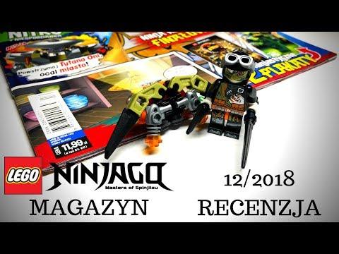 Przegląd Magazynu Lego Ninjago 122018 44 Z Figurką Nitro Lego