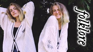 I GOT MY TAYLOR SWIFT CARDIGAN 🌿 folklore merch unboxing!