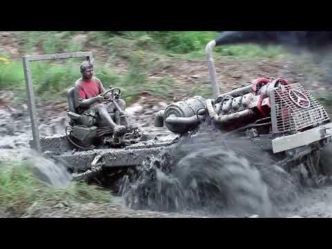 Traktor trial Šalmanovice 2012