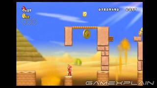 New Super Mario Bros. Wii Level 2-1 Star Coins