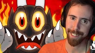 Asmongold FINISHES Cuphead Without Raging.....