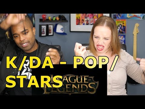 K/DA - POP/STARS (ft Madison Beer, (G)I-DLE, Jaira Burns) - League of Legends (REACTION 🔥)