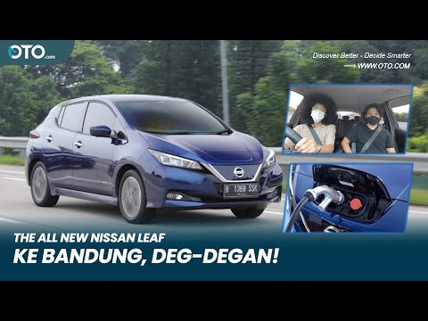 The All New Nissan Leaf | Tes Jarak Jauh Mobil Listrik | Road Test