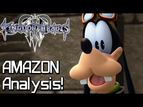 Kingdom Hearts 3 AMAZON GAMES Trailer Analysis