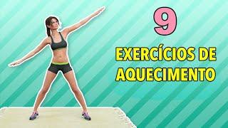 9 Exercícios Para Aquecimento Antes Do Treino: Duas Séries