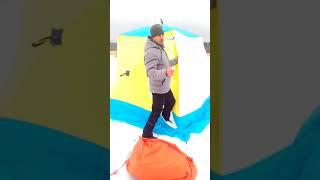 Пол в палатку стэк куб 3