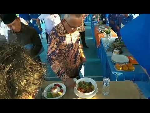 Berikut Video Gubernur Riau Saat Mencicipi Masakan Ikan Patin Kreasi Jalasenastri di Dumai