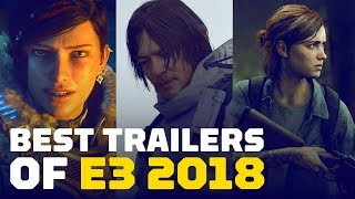 Best Game Trailers of E3 2018