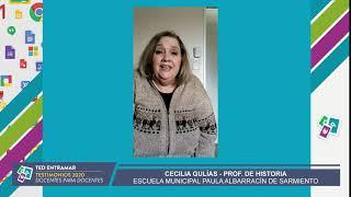 Cecilia Gulías, Escuela Paula Albarracín