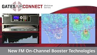 New FM On-Channel Booster Technologies