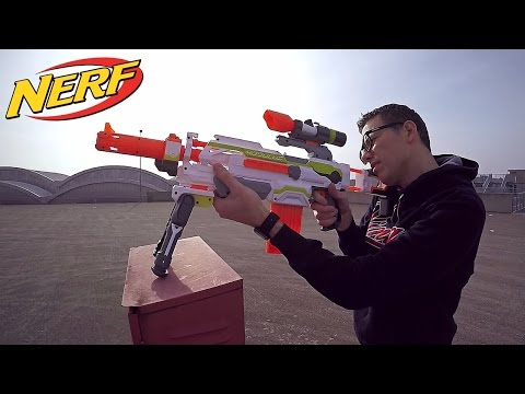 Nerf Modulus ITA: blaster componibile + long range upgrade kit