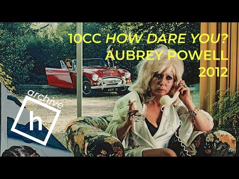 10cc How Dare You! artwork by Aubrey Powell