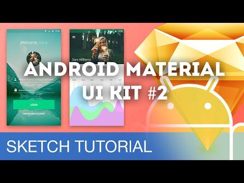 Sketch 3 Tutorial • Android Material UI Kit #2 • Sketchapp