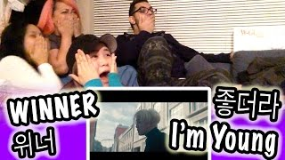 [KPOP REACTION] -- WINNER 위너 -- 좋더라 I'M YOUNG