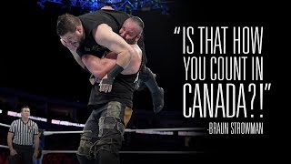 Find out how Kevin Owens responded to Braun Strowman's attack on his home country - Video Youtube