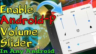 android p volume slider not working - मुफ्त