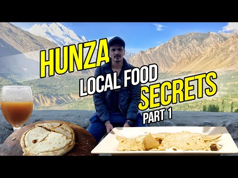 Hunza Valley ka Local Food | Hunza Food trip | Khaabbaa | VLOG