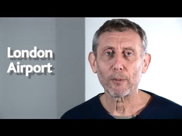 London Airport | POEM | The Hypnotiser | Kids' Poems and Stories With Michael Rosen