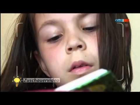 Lesehilfe für Leseanfänger - MDR Einfach genial  Zuschauervideo - 04.09.2012