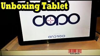 """Unboxing Dopo 10.1"""" Tablet - Android, 1.3ghz Quad Core"""