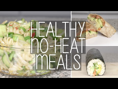 Video How to | 3 Easy No Heat Healthy Meals for School & Work | Eva Chung