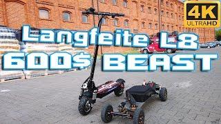 LANGFEITE L8 L8s 🛴 Cheap powerful Escooter 🚀 Xiaomi M365 Pro killer 🪓⚡❤ Overview