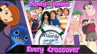 EVERY DISNEY CHANNEL/DISNEY XD CROSSOVER W/Clips - 1999 - 2017 (Full Video)