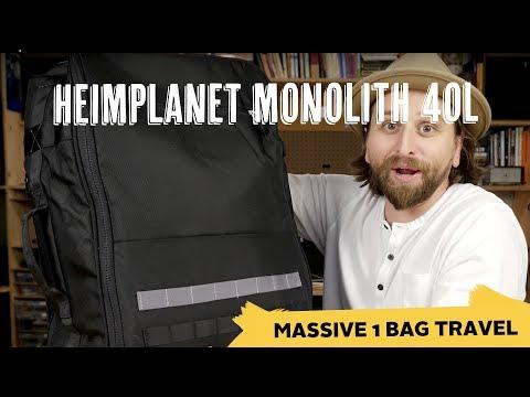 Heimplanet Monolith Weekender 40L