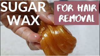 HOW TO MAKE YOUR OWN SUGAR WAX / DIY Hair Removal #howto  #sugaring #hairremovalhacks #슈가링 #왁싱