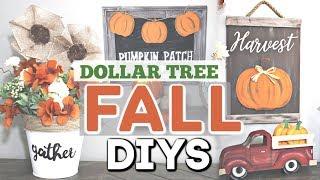DIY Dollar Tree FALL Decor 2019   Fall Home Decor DIY Crafts   Krafts By Katelyn