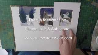 Paint Seasonal Greetings Cards In Watercolour