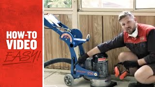 How to Use a Concrete Grinder