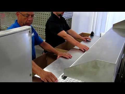 2-EZ SB Ergopack Hand Pack Station with Dunnage Shelf